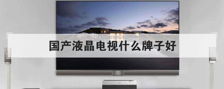 国产液晶电视什么牌子好