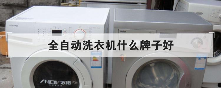 全自动洗衣机什么牌子好